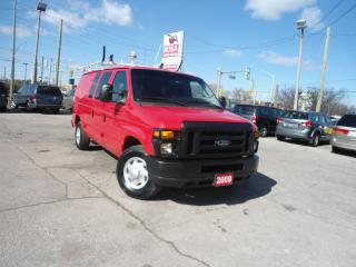 Used 2009 Ford Econoline AUTO A/C SHELVES LADDER RACK  LOW KM NO ACCIDENT N for sale in Oakville, ON