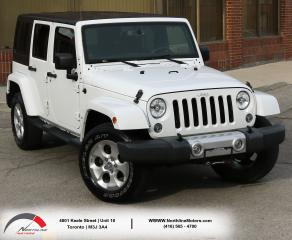 Used 2014 Jeep Wrangler Sahara|Unlimited|AWD|Navigation|2 Tops for sale in North York, ON