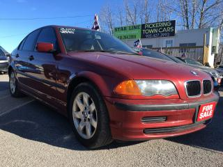 Used 2001 BMW 3 Series 325i/LEATHER/ROOF/LOADED/ALLOYS for sale in Pickering, ON