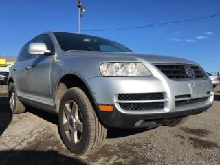 Used 2004 Volkswagen Touareg AWD/LEATHER/ROOF/LOADED/ALLOYS for sale in Pickering, ON