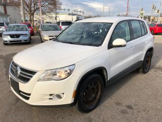 Used 2009 Volkswagen Tiguan 2.0T/ONE OWNER/CERTIFIED/WARRANTY INCL for sale in Cambridge, ON