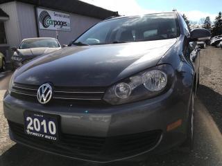 Used 2010 Volkswagen Golf Wagon Comfortline for sale in Bloomingdale, ON