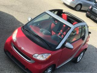 Used 2009 Smart fortwo CABRIOLET/ONE OWNER/CERTIFIED/WARRANTY INCL for sale in Cambridge, ON
