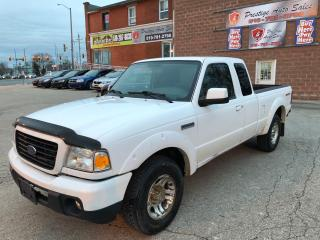 Used 2008 Ford Ranger Sport/4L/NO ACCIDENT/CERTIFIED/WARRANTY INCLUDED for sale in Cambridge, ON
