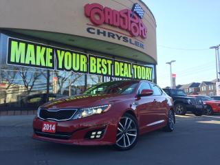 Used 2014 Kia Optima SX TURBO NAVI R-CAM SUNROOF P-WR SEAT for sale in Scarborough, ON