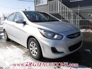 Used 2012 Hyundai ACCENT  4D SEDAN for sale in Calgary, AB
