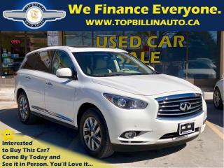 Used 2013 Infiniti JX35 Navigation, Leather, Sunroof, B-up Camera for sale in Concord, ON