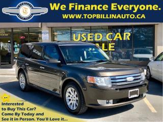 Used 2011 Ford Flex SEL LEATHER, SUNROOF for sale in Concord, ON