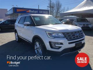Used 2017 Ford Explorer Limited, Auto Parking, Collision Warning System for sale in Vancouver, BC