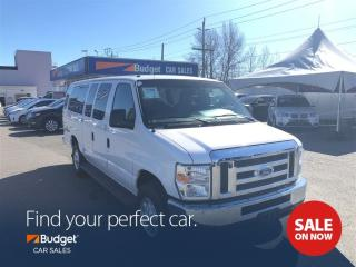 Used 2014 Ford Econoline Super Clean, Low Mileage, 15 Passenger Van for sale in Vancouver, BC