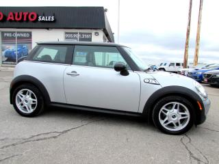 Used 2008 MINI Cooper S Turbo 6 Speed Manual Certified 2YR Warranty for sale in Milton, ON