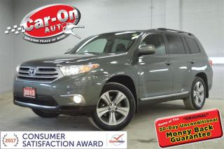 Used 2013 Toyota Highlander SE V6 AWD LEATHER SUNROOF HTD SEATS REAR CAM 7PASS for sale in Ottawa, ON