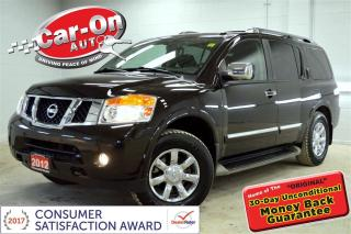 Used 2012 Nissan Armada Platinum Edition 4X4 LEATHER ROOF NAV DVD LOADED for sale in Ottawa, ON