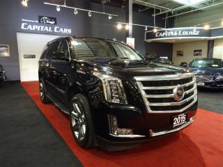 Used 2015 Cadillac Escalade PREMIUM / NAVIGATION /  ADAPTIVE CRUISE CONTROL for sale in North York, ON