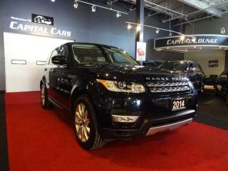 Used 2014 Land Rover Range Rover Sport HSE / NAVIGATION / 360' PARK ASSIST for sale in North York, ON