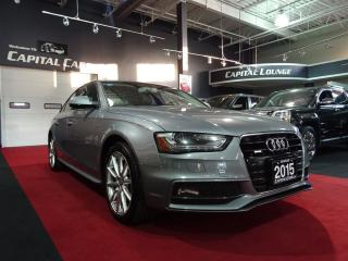 Used 2015 Audi A4 S-LINE / PROGRESSIV PLUS / NAVIGATION for sale in North York, ON