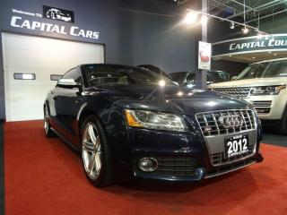 Used 2012 Audi S5 6 SPEED / NAVIGATION / BACK UP CAMERA for sale in North York, ON