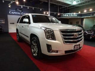 Used 2016 Cadillac Escalade PREMIUM / NAVIGATION /  ADAPTIVE CRUISE CONTROL for sale in North York, ON