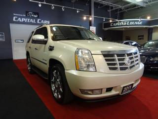 Used 2011 Cadillac Escalade NAVIGATION / BACK UP CAMERA / REAR ENTERTAINMENT for sale in North York, ON