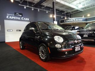 Used 2012 Fiat 500 C LOUNGE / CONVERTIBLE / BLUETOOTH for sale in North York, ON