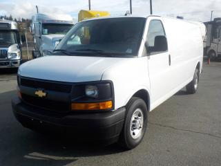 Used 2017 Chevrolet Express 2500 EXTENDED CARGO VAN for sale in Burnaby, BC