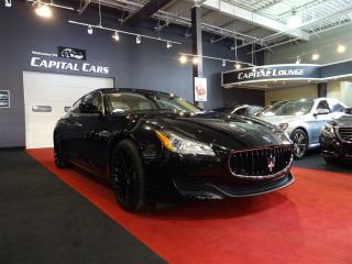 Used 2014 Maserati Quattroporte S Q4 / PREMIUM & HEATING PACKAGE for sale in North York, ON