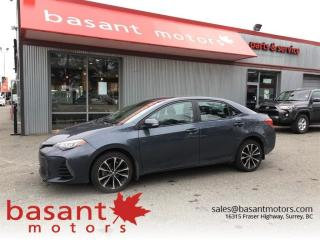 Used 2017 Toyota Corolla SE, Sunroof, Toyota Safety Sense, Heated Seats!! for sale in Surrey, BC