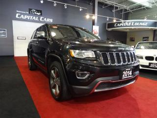 Used 2014 Jeep Grand Cherokee LIMITED / NAVIGATION / ADAPTIVE CRUISE CONTROL for sale in North York, ON