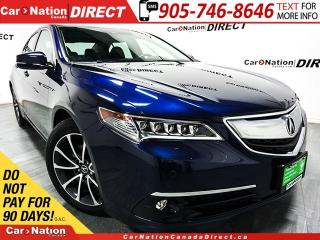 Used 2015 Acura TLX Elite| AWD| SUNROOF| NAVI| OPEN SUNDAYS| for sale in Burlington, ON