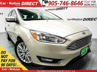 Used 2017 Ford Focus Titanium| NAVI| LEATHER| SUNROOF| for sale in Burlington, ON