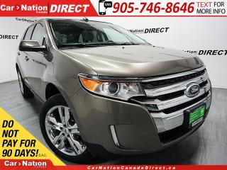Used 2013 Ford Edge SEL| AWD| LOCAL TRADE| NAVI| SUNROOF| LEATHER| for sale in Burlington, ON