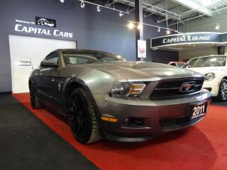 Used 2011 Ford Mustang V6 / ROUSH EXHAUST / LEATHER / BLUETOOTH for sale in North York, ON