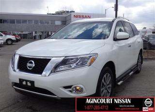 Used 2016 Nissan Pathfinder SV V6 4x4 at |Backup Camera|Bluetooth|Heated Steer for sale in Scarborough, ON