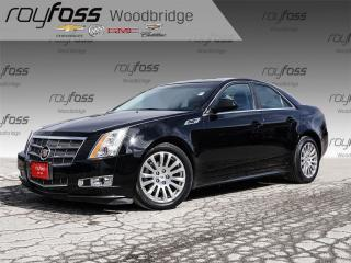 Used 2010 Cadillac CTS 3.0L BOSE, VENTED SEATS, PANORAMIC ROOF for sale in Woodbridge, ON