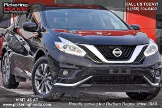 Used 2017 Nissan Murano S FWD CVT for sale in Pickering, ON