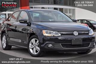 Used 2013 Volkswagen Jetta Turbocharged Hybrid Cmfrtlne 1.4T 7sp DSG w/ Tip for sale in Pickering, ON