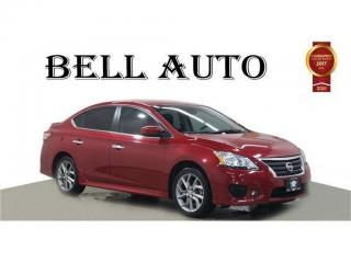 Used 2014 Nissan Sentra 1.8 SR NAVIGATION SUNROOF REARCAM ALLOYS for sale in North York, ON