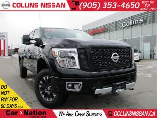 Used 2017 Nissan Titan XD PRO-4X Gas | LEATHER | 360-CAM | OFF ROAD PKG for sale in St Catharines, ON