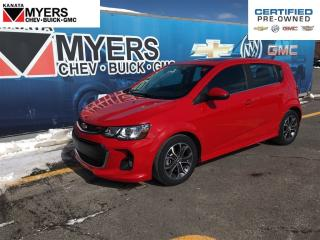 Used 2017 Chevrolet Sonic LT SUNROOF 1.4L TURBO LOADED for sale in Ottawa, ON