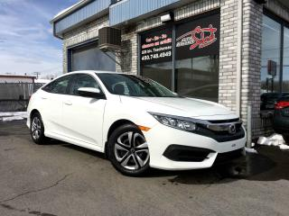 Used 2017 Honda Civic LX 4 portes CVT*CAMERAS*BLUETOOTH* for sale in Longueuil, QC