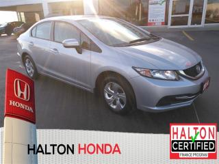 Used 2014 Honda Civic LX|ACCIDENT FREE for sale in Burlington, ON