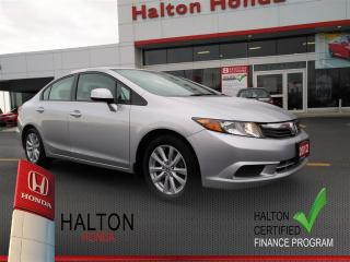 Used 2012 Honda Civic EX-L|ACCIDENT FREE for sale in Burlington, ON