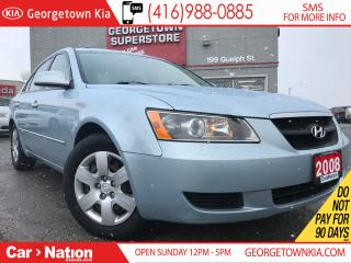 Used 2008 Hyundai Sonata GLS ONE OWNER| LOADED OPTIONS| LIKE NEW for sale in Georgetown, ON