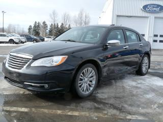 Used 2013 Chrysler 200 Limited for sale in Vallee-jonction, QC