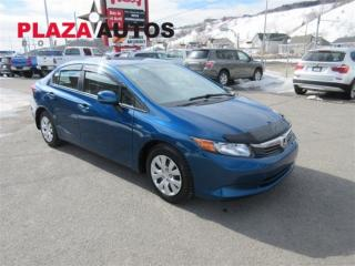 Used 2012 Honda Civic LX for sale in Boischatel, QC