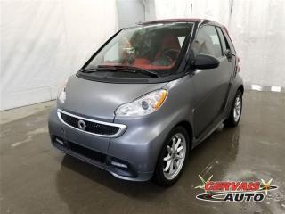 Used 2014 Smart fortwo PASSION CONVERTIBLE for sale in Trois-rivieres, QC