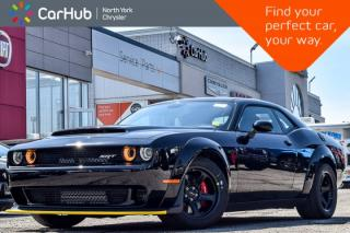 New 2018 Dodge Challenger New Car SRT Demon|6.2L HEMI|Comfort Audio,Storage Pkg|H/K Audio for sale in Thornhill, ON
