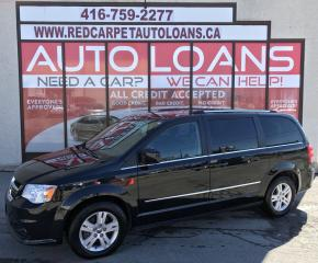 Used 2016 Dodge Grand Caravan Crew CREW-ALL CREDIT ACCEPTED for sale in Scarborough, ON