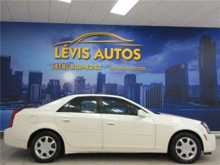 Used 2003 Cadillac CTS V-6 3.2 L Bluetooth for sale in Levis, QC