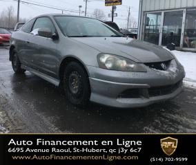 Used 2006 Acura RSX **AIR CLIMATISÉ/TOIT OUVRANT/** for sale in Saint-hubert, QC